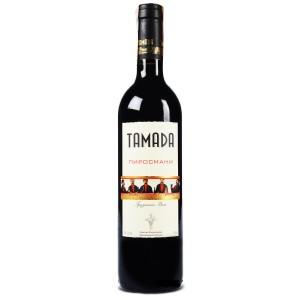 Вино Грузии Tamada Pirosmani / Тамада Пиросмани, Кр, П/Сл, 0.75 л [4860004070074]