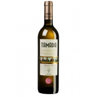 Вино Грузии Tamada Цинандали, Бел, Сух, 0.75 л 13% [4860004070098]