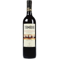 Вино Грузии Tamada Алазанская долина, Кр, П/Сл, 0.75 л 11.5% [4860004073273]