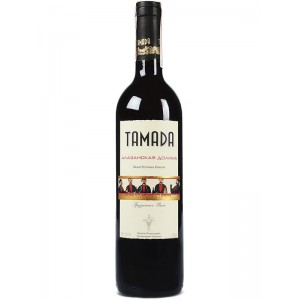 Вино Грузии Tamada Alazani Valley / Тамада Алазанская долина, Кр, П/Сл, 0.75 л [4860004073273]