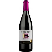Вино Чили Gato Negro Pinot Noir, Кр, Сух, 0.75 л 13.9% [7804300137366]