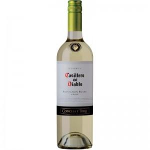 Вино Чили Casillero del Diablo Sauvignon Blanc Reserva / Казильеро дель Дьябло Совиньон Блан Резерва, Бел, Сух, 0.75 л [7804320301174]