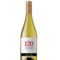 Вино Чили Santa Rita 120 Chardonnay / Санта Рита 120 Шардоне, Бел, Сух, 0.75 л [7804330351206]