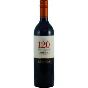 Вино Чили Santa Rita 120 Carmenere / Санта Рита 120 Карменер, Кр, Сух, 0.75 л [7804330984060]