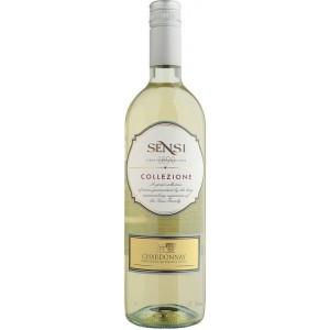 Вино Италии Sensi Collezione Chardonnay, 12%, Бел, Сух, 0.75 л [8002477090326]