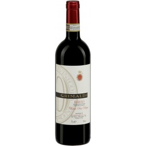Вино Италии Grimaldi Barolo Bricco San Biagio / Гримальди Бароло Брикко Сан Бьяджо, Кр, Сух, 0.75 л [8023228000104]