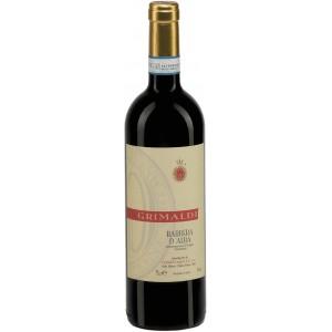 Вино Италии Grimaldi Barbera d'Alba / Гримальди Барбера д'Альба, Кр, Сух, 0.75 л [8023228000302]