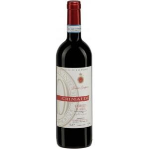 Вино Италии Grimaldi Barbera d'Alba Vecchia Groppone Superiore / Гримальди Барбера д'Альба Веккья Гроппоне Супериор, Кр, Сух, 0.75 л [8023228000500]