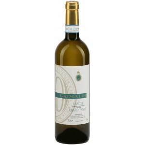 Вино Италии Grimaldi Langhe Chardonnay / Гримальди Ланге Шардоне, Бел, Сух, 0.75 л [8023228001200]