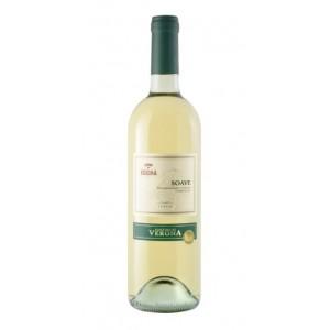 Вино Италии Cantina di Verona Soave / Кантина ди Верона Соаве, Бел, Сух, 0.75 л [8030625002853]