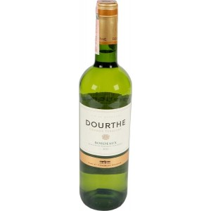 Вино Франции Dourthe Grands Terroirs Bordeaux Blanc / Дурт Гран Терруар Бордо Блан, Бел, Сух, 0.75 л [3258691240008]