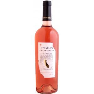 Вино США  770 Miles Zinfandel Rose / 770 Милс Зинфандель Розе, Роз, Сух., 0.75 л [3263280102414]