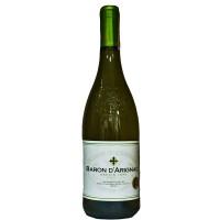 Вино Франции Baron d'Arignac Blanc Sec / Барон д'Ариньяк, Бел, Сух, 0.75 л [3263286314996]