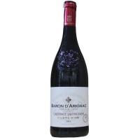 Вино Франции Baron d'Arignac Cabernet Sauvignon / Барон д'Ариньяк Каберне Совиньон, Кр, Сух, 0.75 л [3263286342593]