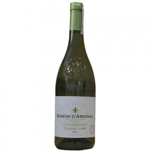 Вино Франции Baron d'Arignac Colombard / Барон д'Ариньяк Коломбар, Бел, Сух, 0.75 л [3263286342609]