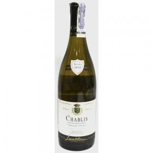 Вино Франции Lamblin & Fils Chablis Vieilles Vignes / Ламблен и Фис Шабли Вьель Винь, 12.5%, Бел, Сух, 0.75 л [3269391374016]