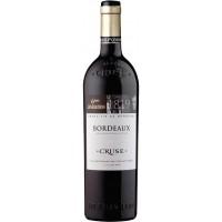 Вино Франции Cruse Bordeaux 6-eme generation / Круз Бордо 6-е поколение, Кр, Сух, 0.75 л [3452130039516]