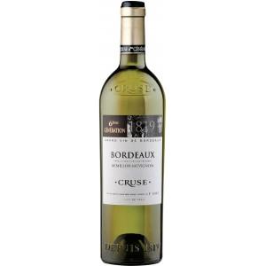 Вино Франции Cruse Semillon-Sauvignon Bordeaux 6-eme generation / Круз Семильон-Совиньон Бордо 6-е поколени, Бел, Сух, 0.75 л [3500610045806]