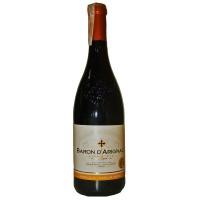 Вино Франции Baron d'Arignac, Кр, П/Сл, 0.75 л 12% [3500610051135]
