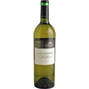 Вино Франции Cruse Sauvignon / Крузе Совиньон, бел, сух, 0.75 л [3500610062636]