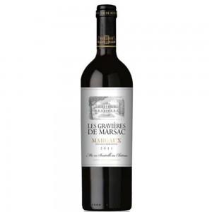 Вино Франции Les Gravieres De Marsac / Ле Гравьер де Марсак, Кр, Сух, 0.75 л [3500610084577]