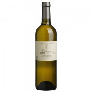 Вино Франции Chateau Le Bruilleau Pessac Leonyan / Шато Ле Брюлю Пессак Леоньян, Бел, Сух, 0.75 л [3500610089978]