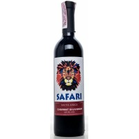 Вино Украины Safari Cabernet Sauvignon, Кр, Сух, 0.75 л 10-14% [4823069001810]