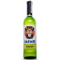 Вино Украины Safari Chardonnay, Бел, Сух, 0.75 л 10-15% [4823069001827]