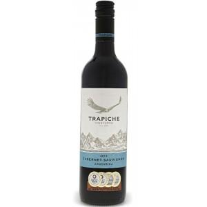 Вино Аргентины Trapiche Vineyards Cabernet Sauvignon / Трапиче Вайнъярдс Каберне Совиньон, Кр., Сух., 0.75 л [7790240072150]
