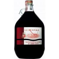 Вино Италии Verga Le Rovole Montepulciano D'Abruzzo / Верга Ле Револе Монтепульчано д'Абруццо, Кр, Сух, 5 л [8000128001325]