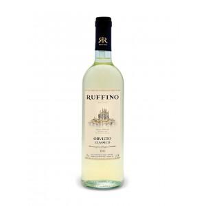 Вино Италии Orvieto Classico Ruffino / Орвието Классико Руффино, Бел, Сух, 0.75 л [8001660126750]