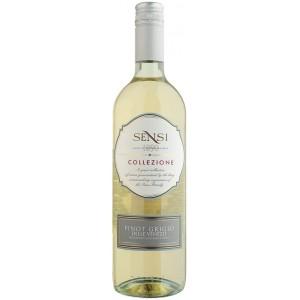 Вино Италии Sensi Collezione Pinot Grigio, 12%, Бел, Сух, 0.75 л [8002477090258]