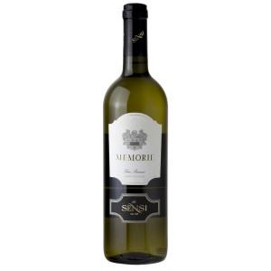 Вино Италии Sensi Memorie Bianco, 12.5%, Бел, Сух, 0.75 л [8002477171520]