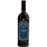Вино Италии La Cacciatora Montepulciano D'abruzzo D.O.C., 12.5%, Кр, Сух, 0.75 л [8004300116548]