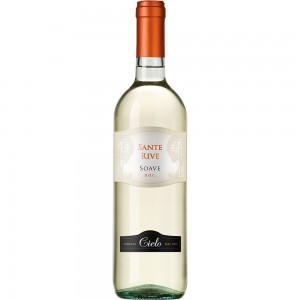 Вино Италии Cielo Sante Rive Soave / Чело Санте Риве Соаве, Бел, Сух, 0.75 л [8008900001006]