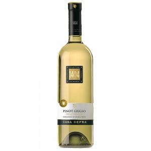 Вино Италии Casa Defra Pinot Grigio, 12%, Бел, Сух, 0.75 л [8008900001044]