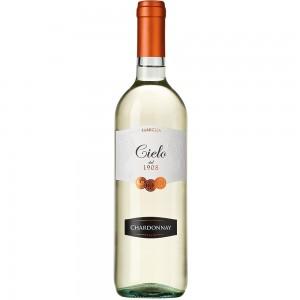 Вино Италии Cielo Chardonnay, Бел, Сух, 1.5 л 12% [8008900006742]