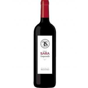 Вино Испании Terra Sara Tinto Tempranillo / Терра Сара Тинто Темпранильо, Кр, Сух, 0.75 л [8437003247668]