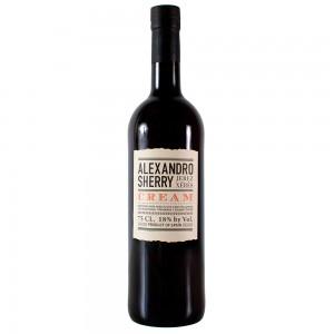 Херес Испании Alexandro Cream / Алехандро Крим, Бел, Сл, 0.75 л [8437007529494]