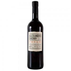 Херес Испании  Alexandro Cream / Алехандро Крем, Бел, Сл, 0.375 л [8437007529500]