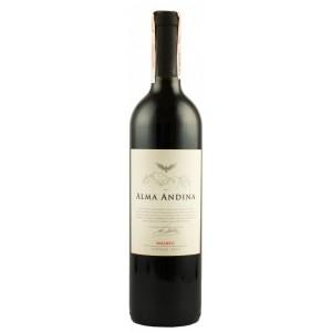 Вино Аргентины Alma Andina, Malbec / Альма Андина, Мальбек, красное, сухое, 12.5%, 0.75 л [7791540046261]