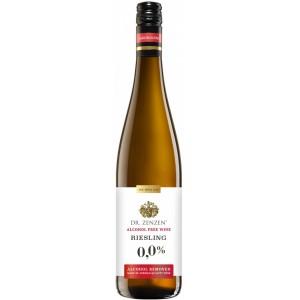 Вино Германии Dr. Zenzen Riesling alkoholfrei / Доктор Цензен, Рислинг, сухое, белое, безалкогольное, 0.75 л [4008005042014]