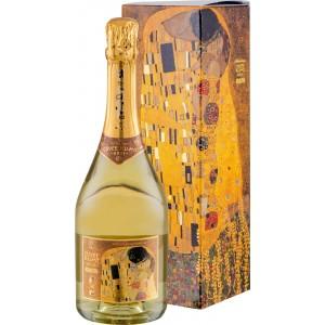 """Вино игристое Австрии Cuvee Klimt """"Der Kuss"""", Schlumberger / Кюве Климт """"Дер Кюсс"""", белое, брют, 11.5%, 0.75 л (под. уп) [90057861]"""