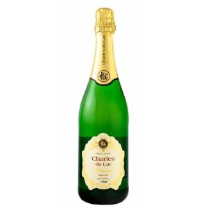 Вино игристое Бельгии Charles du Lac Demi Sec / Шарль дю Лак полусухое, белое, 8.4%, 0.75 л [5414145051639]
