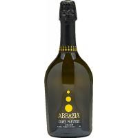 Вино игристое Италии Cuvee Spumante, Extra Dry, Abbazia / Кюве Спуманте, Аббазиа, экстра сухое, белое, 11%, 0.75 л [8001592003631]