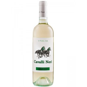 Вино Италии Cavalli Neri Pinot Grigio / Пино Гриджо, белое, сухое, 12.5%, 0.75 л [8027603005180]
