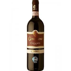 Вино Италии Chianti Gonfalone, Trambusti DOCG / Кьянти, красное, сухое, 12.5%, 0.75 л [80123125]