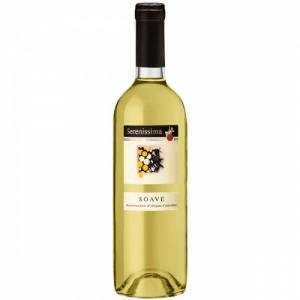 Вино Италии Serenissima Soave / Серениссима Соаве, Бел, Сух, 0.75 л [8003030882259]