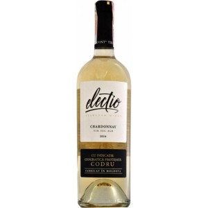 Вино Молдовы Electio Шардоне, белое, сухое, 12.6%, 0.75 л [4840709004338]