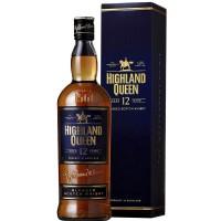 Виски Шотландии  Highland Queen 12 yo / Хайленд Квин, 12-летний, 0.75 л (под.уп) [3267683951204]